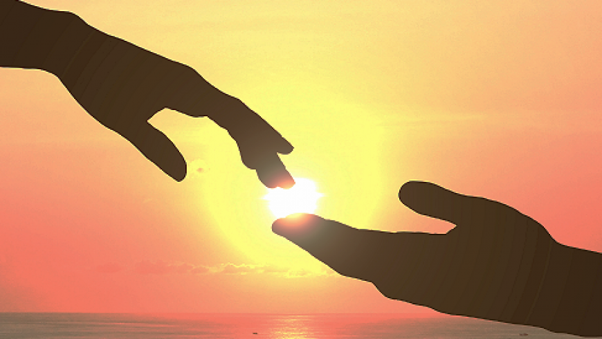 Waarom geven we een hand?