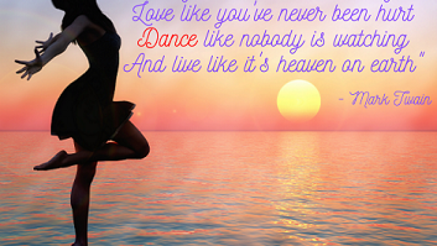 Dans alsof niemand kijkt…