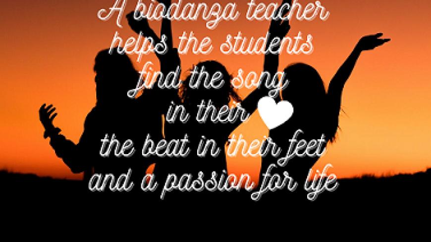 Een biodanza docent helpt je…